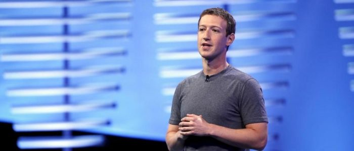 Mark Zuckerberg in Italia