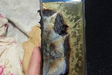Galaxy Note 7 esplode 1