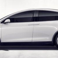 Tesla Model X con autopilot