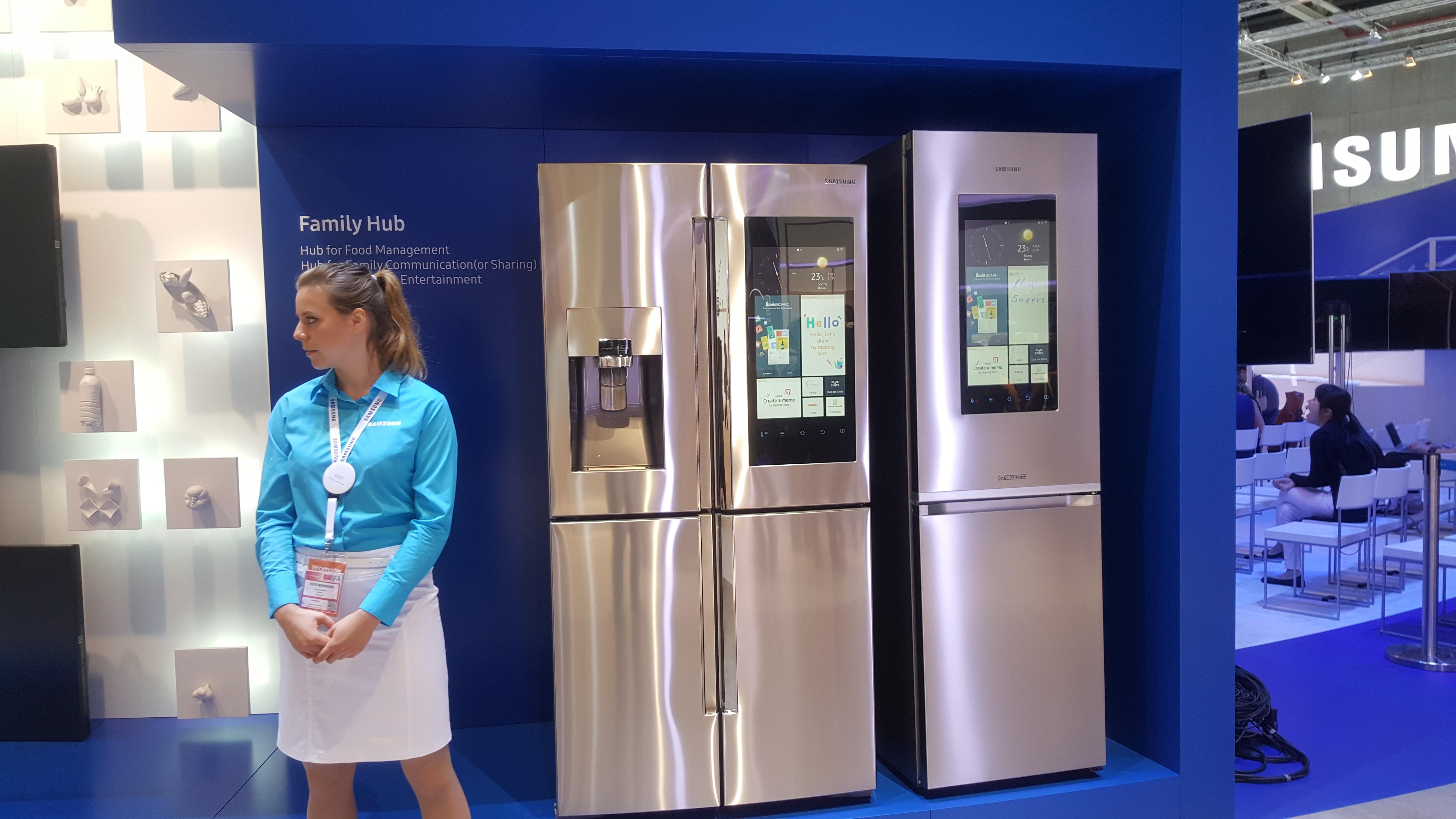 Samsung Family Hub, il frigorifero diventa smart