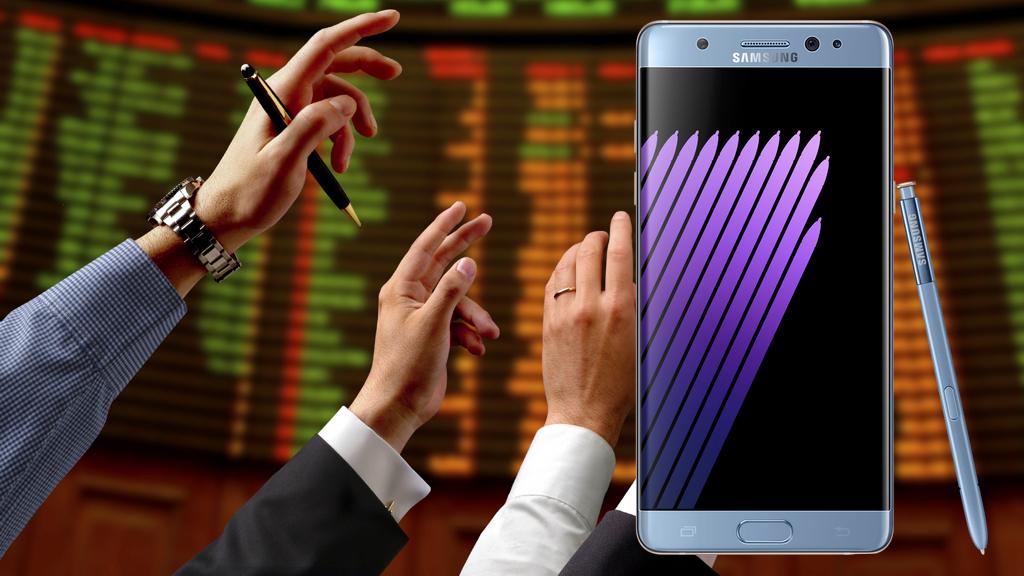 Samsung Galaxy Note 7: quanto sta costando a Samsung il rischio esplosione?