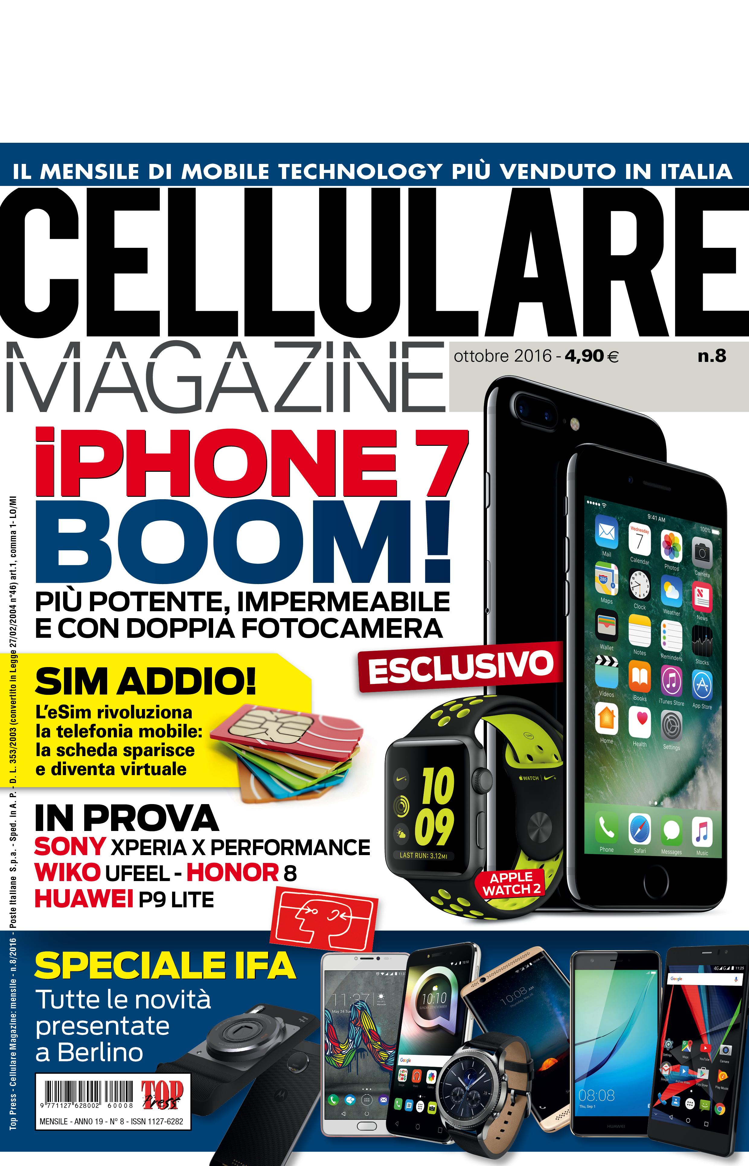 Cellulare Magazine ottobre 2016 è in edicola!