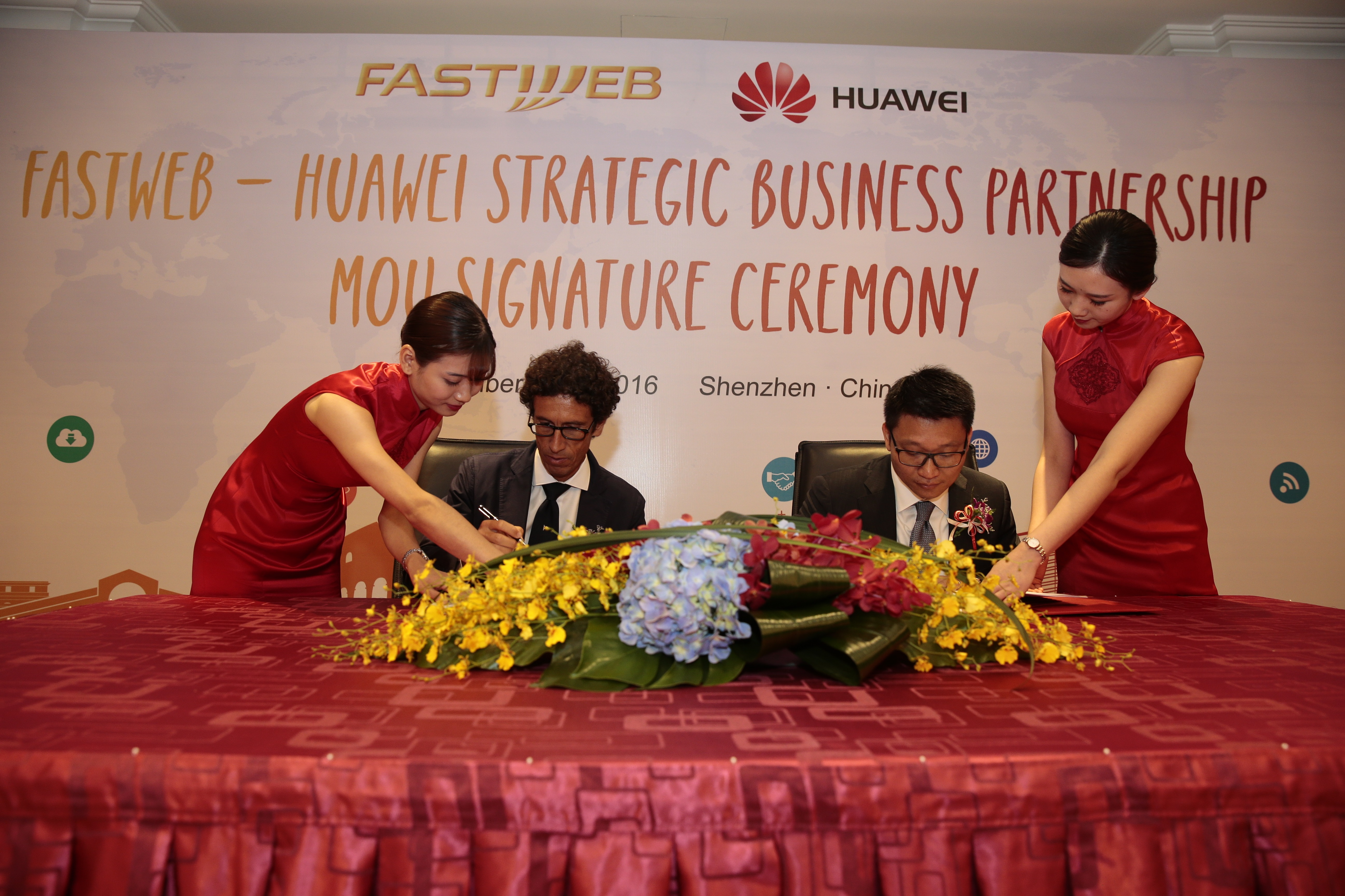 Huawei e Fastweb insieme per il 5G