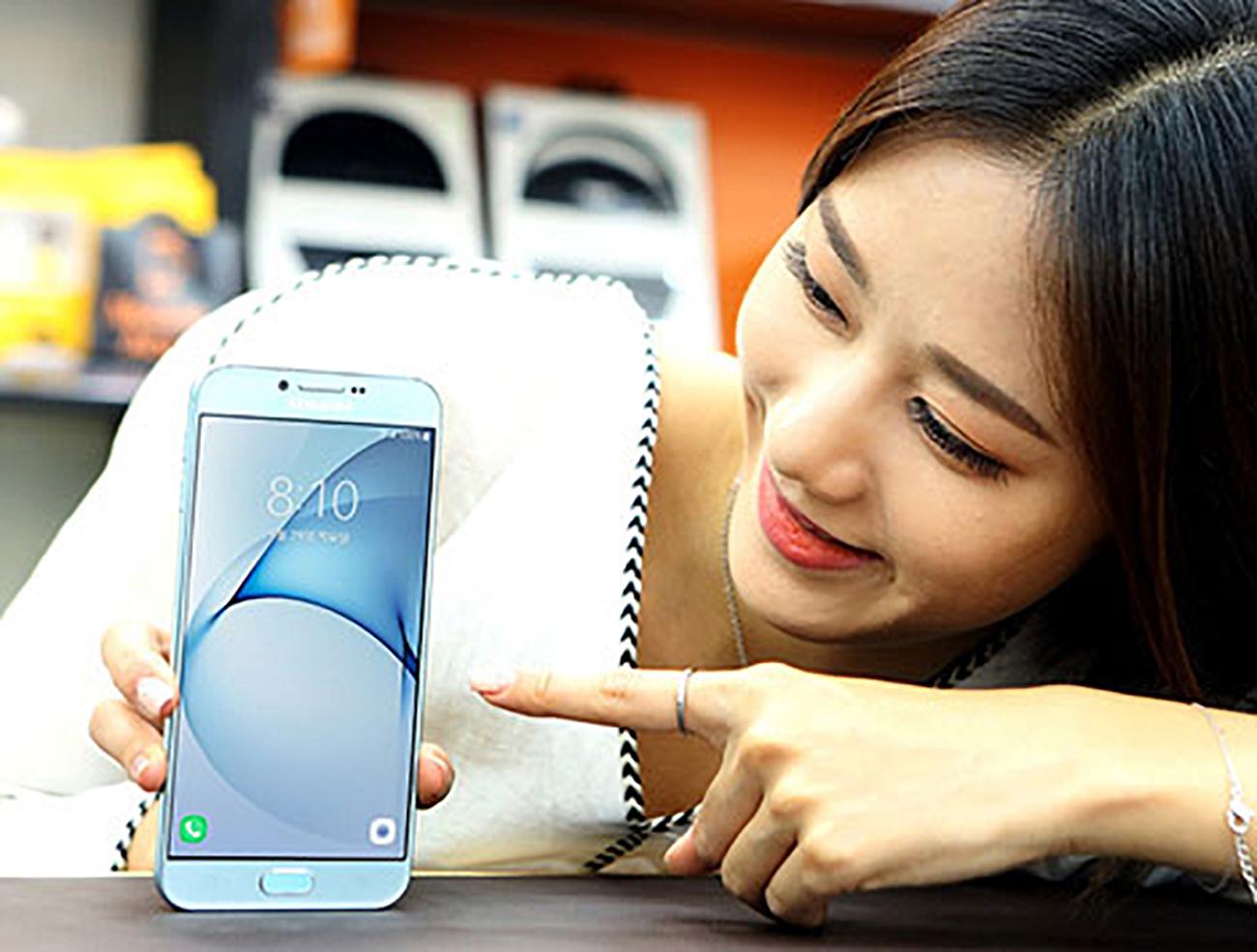 Samsung Galaxy A8 2016 foto