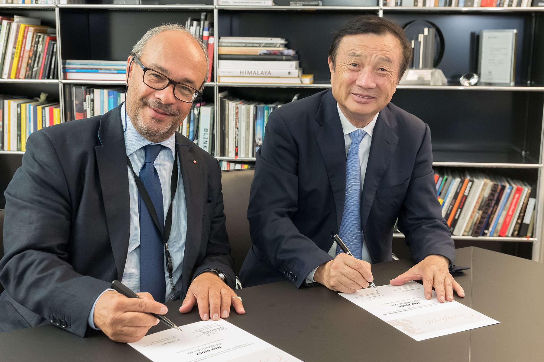 Huawei e Leica insieme nel Max Berek Innovation Lab