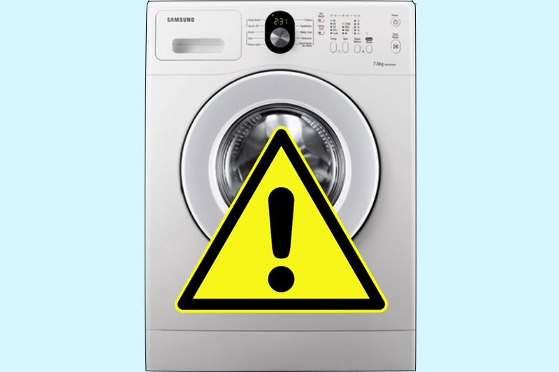 La storia infinita di Samsung: anche le lavatrici esplodono