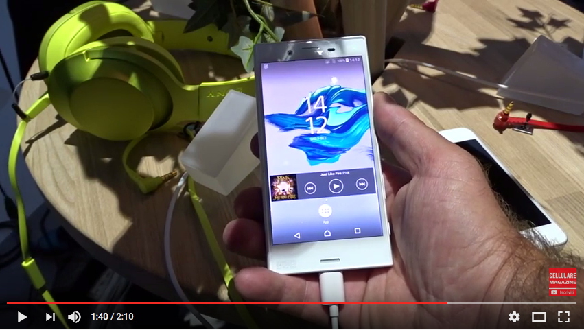 Sony Xperia X Compact e XZ: i video