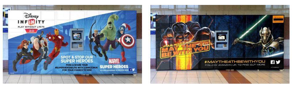 pubblicità amazon locker