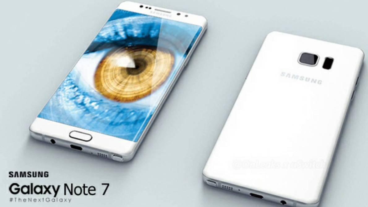 Samsung Galaxy Note7: la storia