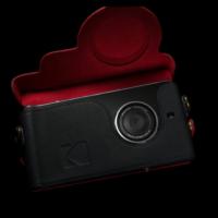 Custodia in pelle Kodak Ektra 2