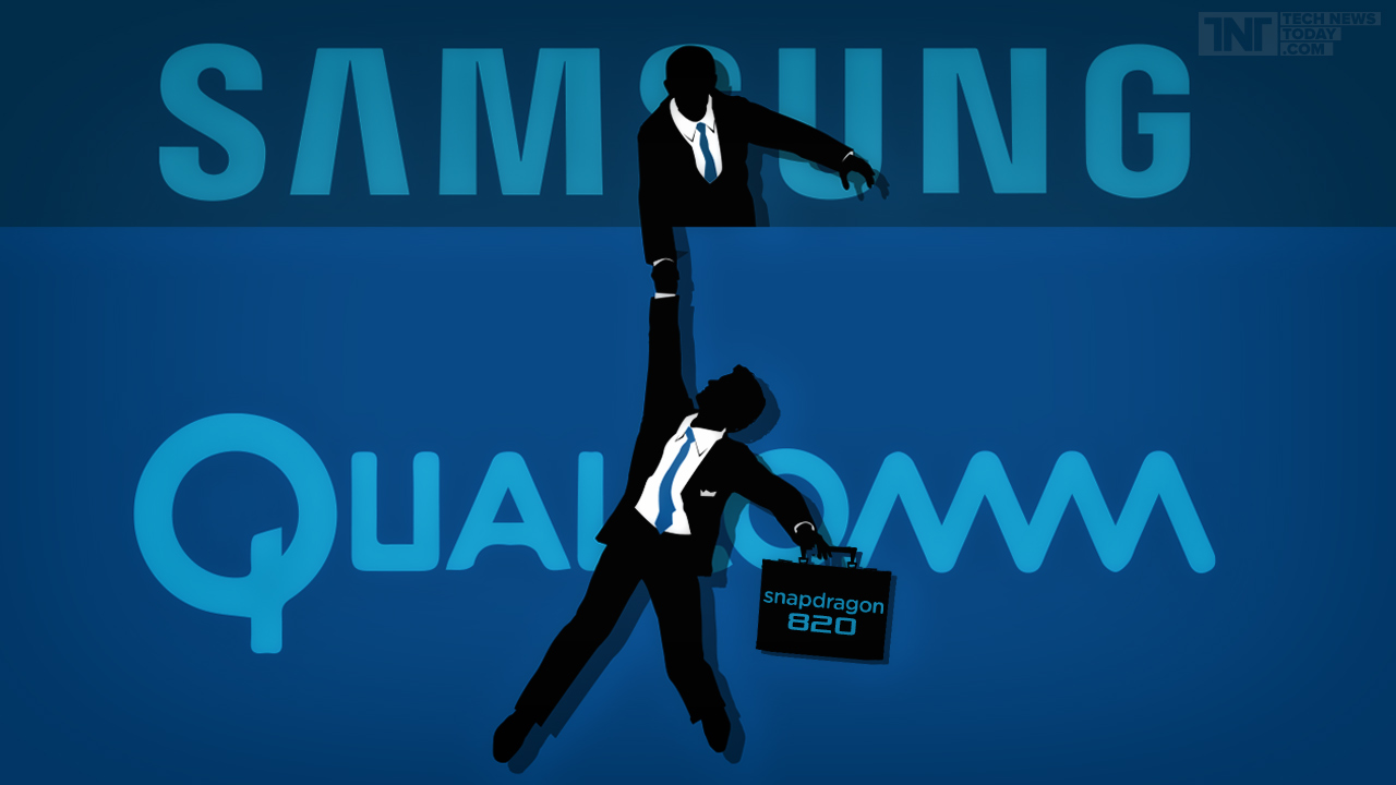 Samsung salva Qualcomm