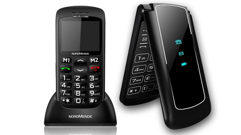 """Con i cellulari per anziani Nordmende si può stare anche un po' """"sconessi"""""""