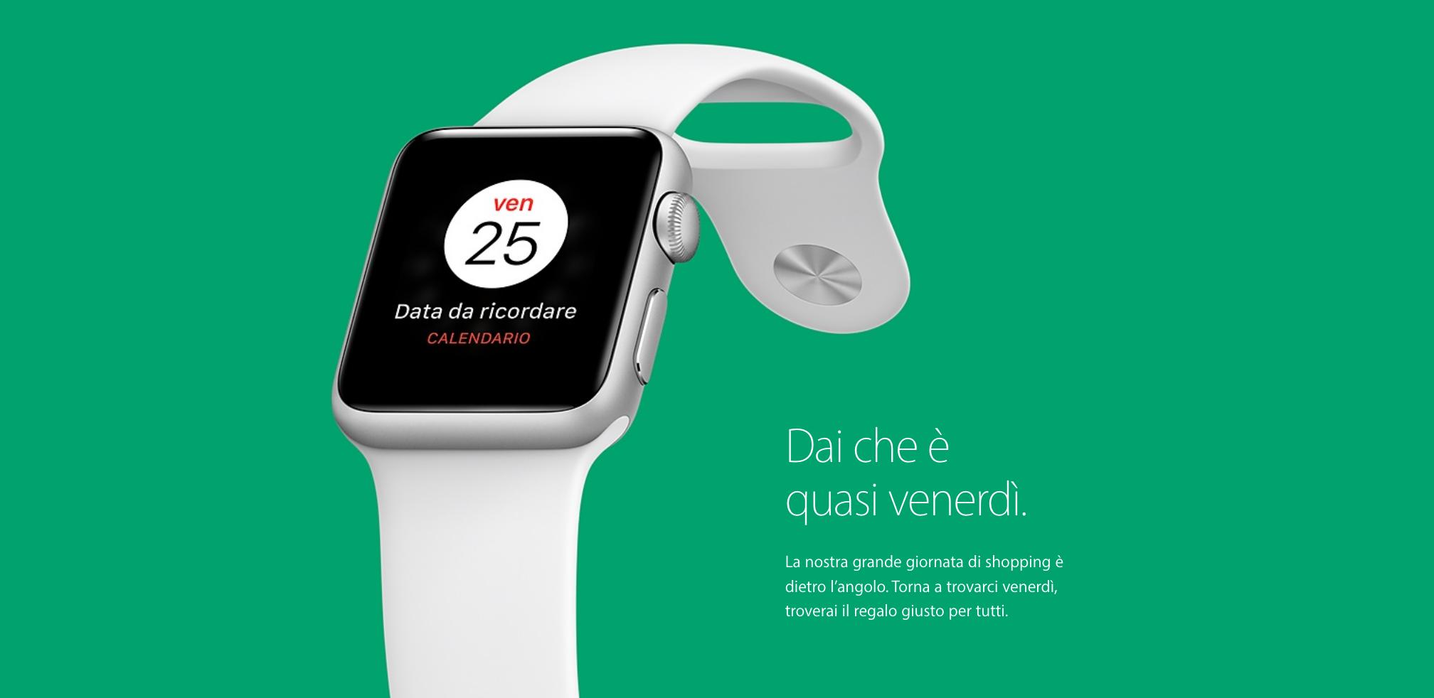 Apple: ritornano le offerte per il Black Friday del 25 novembre dopo un anno di pausa