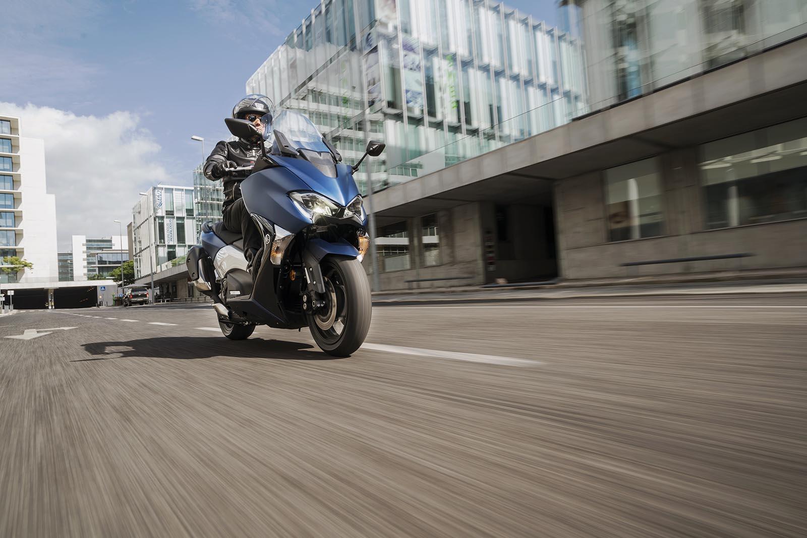 I servizi di Vodafone per gli scooter di Yamaha