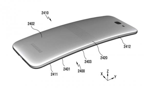 Galaxy X lo smartphone pieghevole di Samsung.