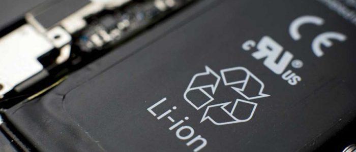 Batteria ioni di litio