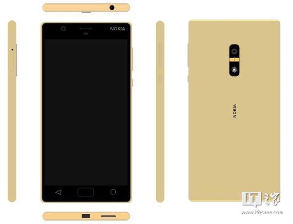 Nokia D1C Gold