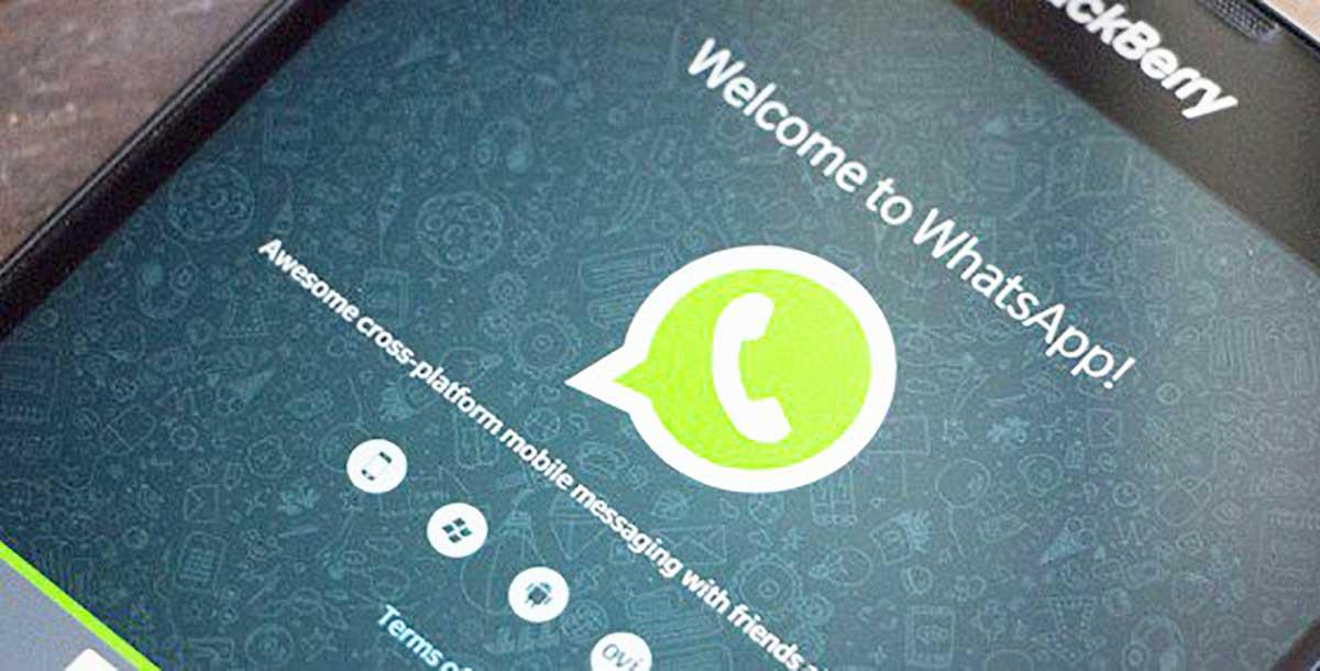 whatsapp su un blackberry o symbian