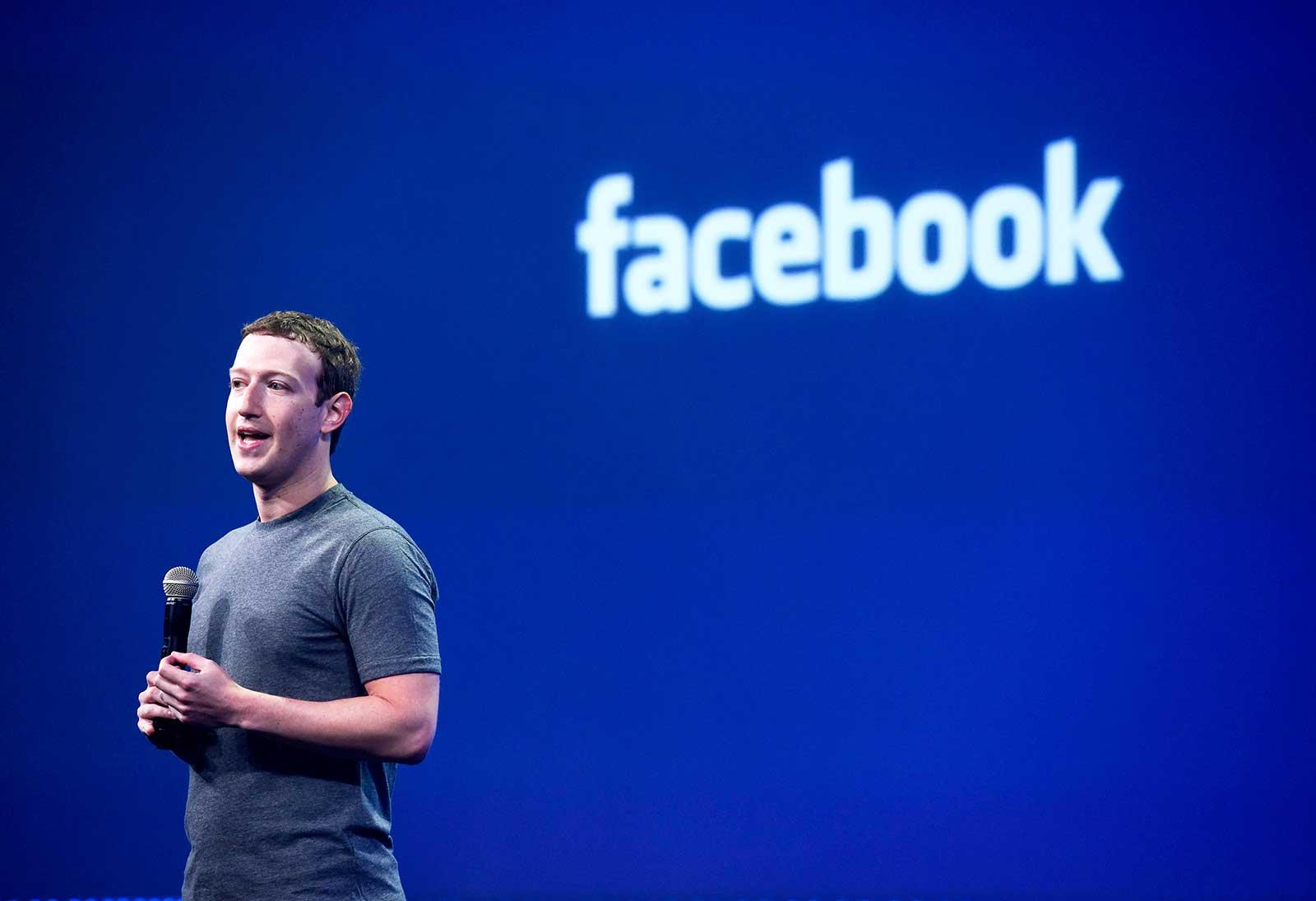 Logo Facebook Zuckerberg