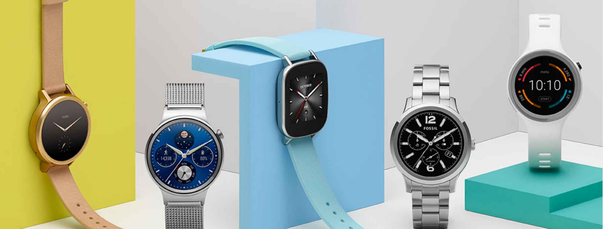 Nuovi smartwatch da Google