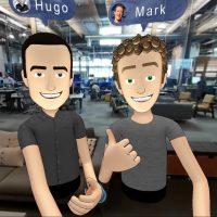 Hugo Barra e Mark Zuckerberg