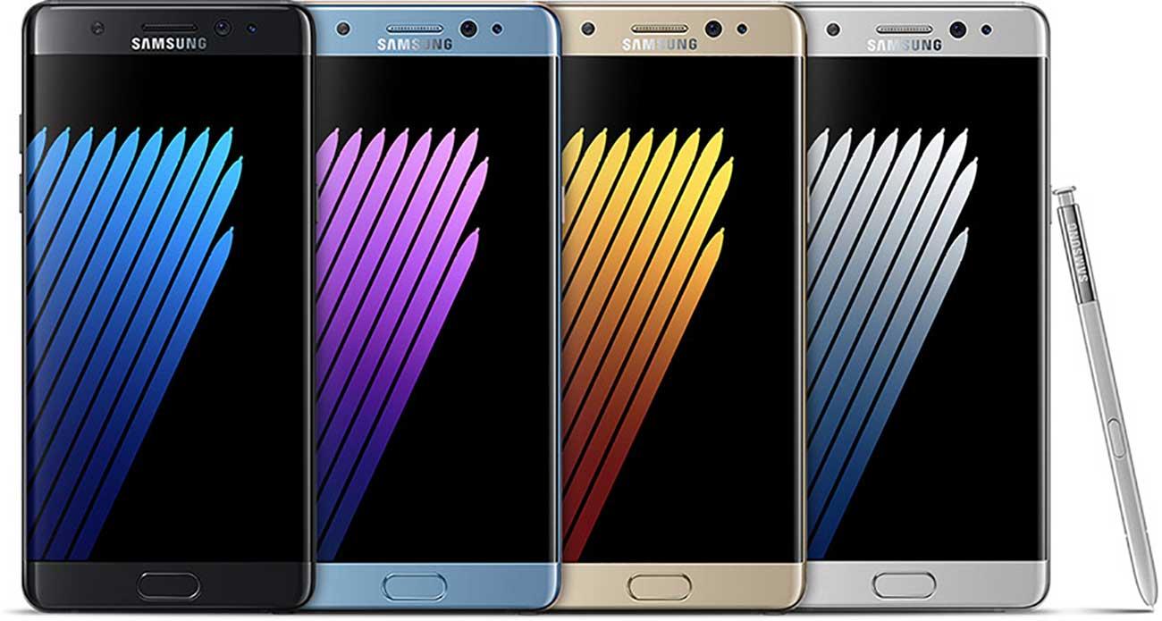 Samsung Galaxy Note 7 - pronto il ritorno in alcuni mercati