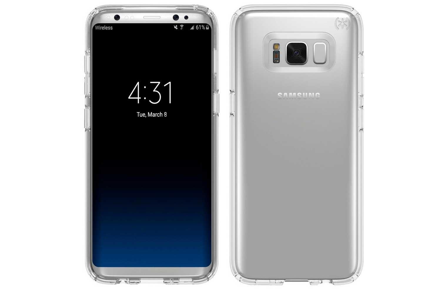 Galaxy s8 ecco le prime foto con display acceso cellulare magazine - Samsung dive italia ...