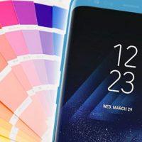 Samsung Galaxy S8: i colori