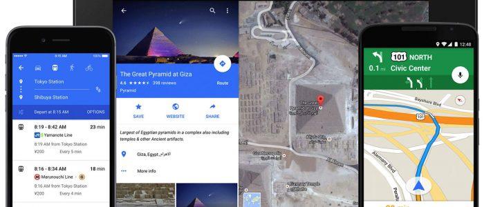 Google Maps parcheggio