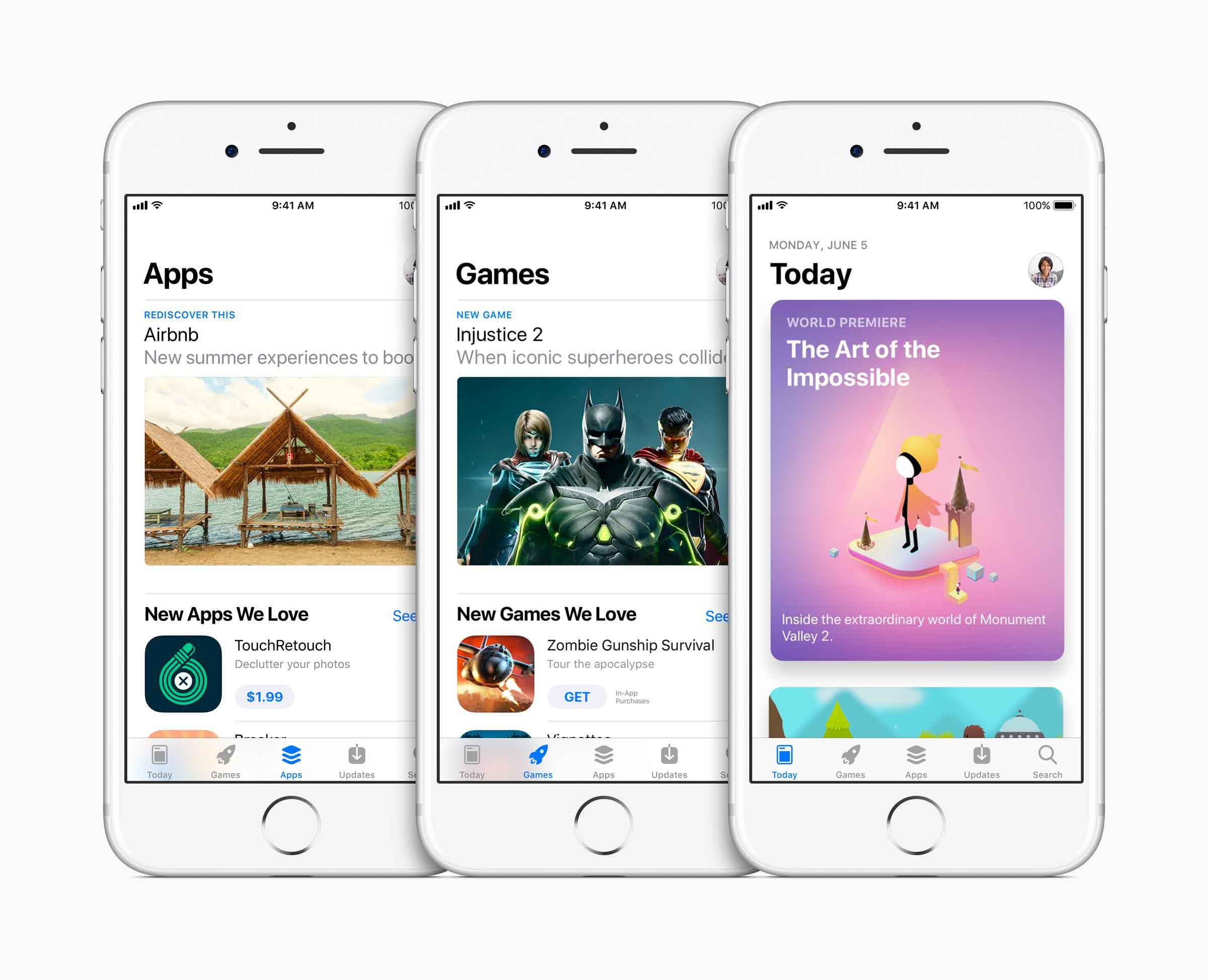 Un App Store tutto nuovo per Apple