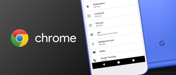 Google Chrome blocca ads