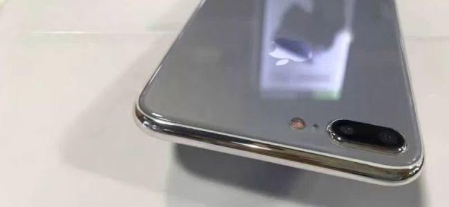 Iphone 7s Plus con retro in vetro