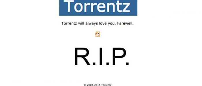Torrentz chiuso