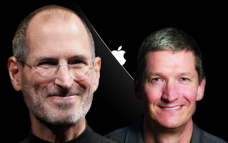 apple-tim-cook-steve-jobs