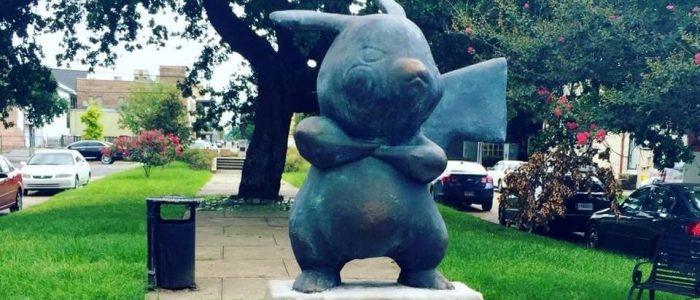 Statua Pikachu