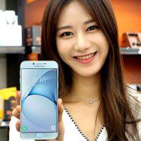 Galaxy A8 ragazza coreana foto 2