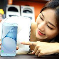 Galaxy A8 ragazza coreana