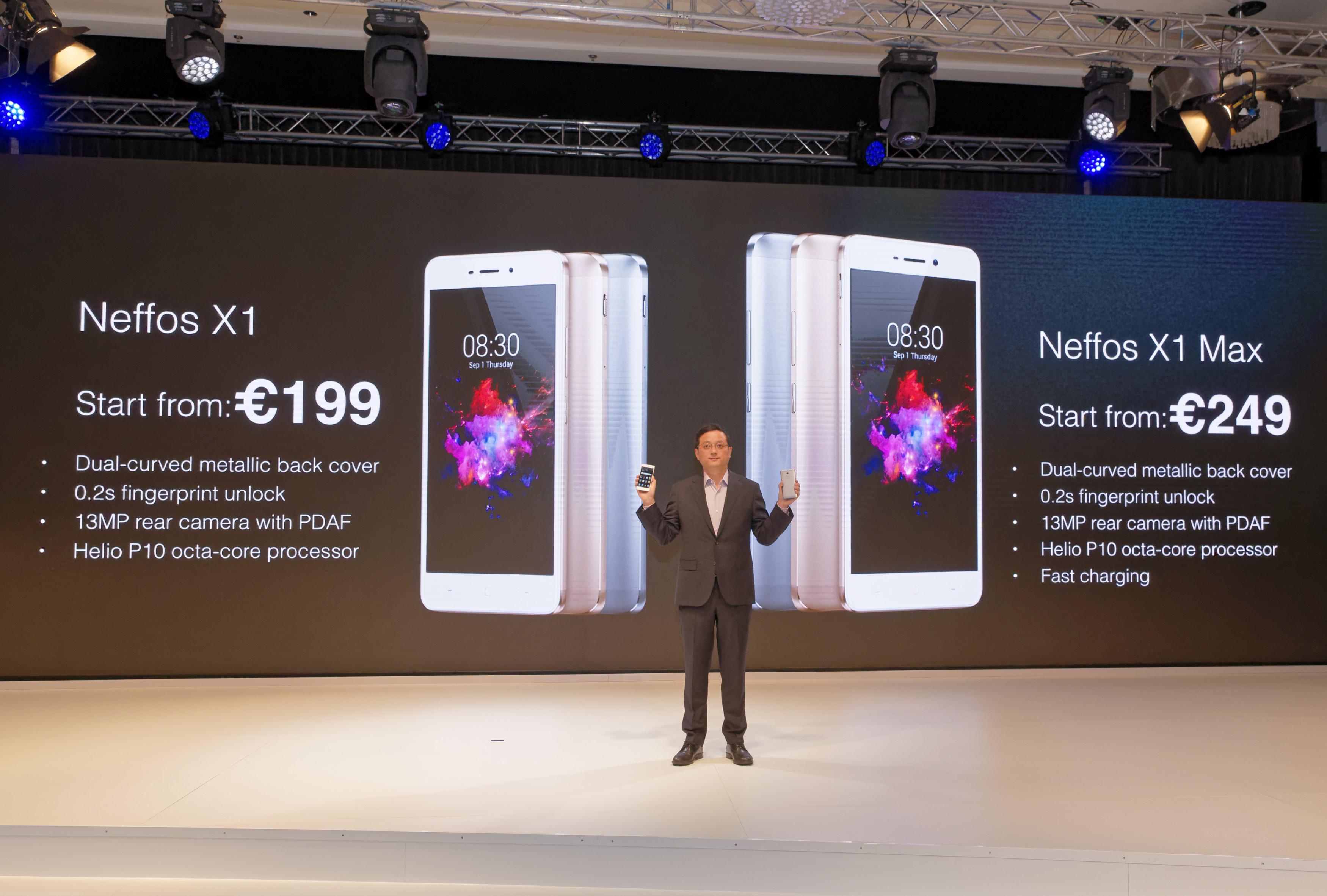 Tp Link Neffos X1 E X1 Max Presentati A Ifa 2016 Cellulare Magazine