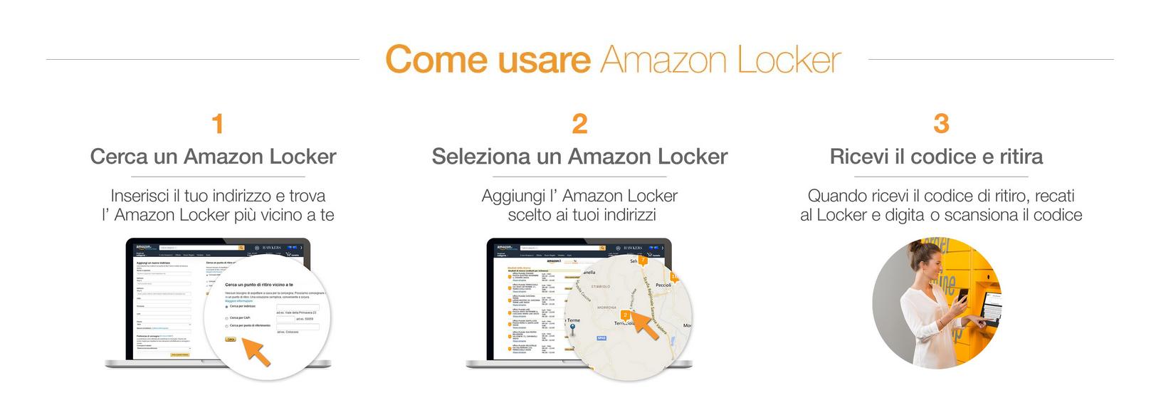 Amazon locker come funziona