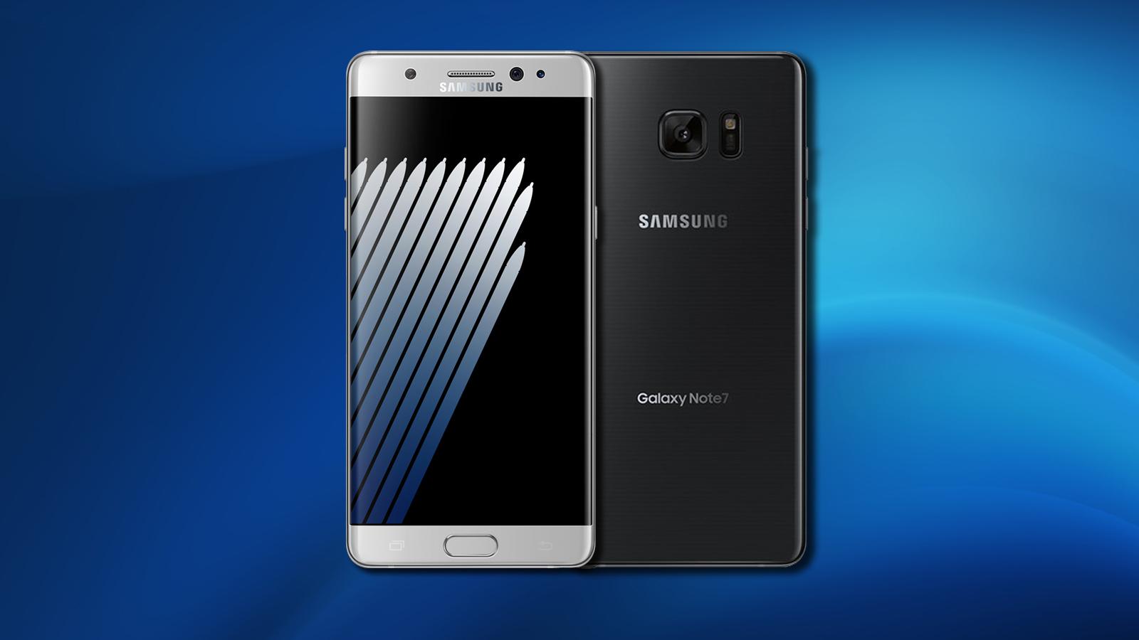 Samsung Galaxy Note 7 vendite