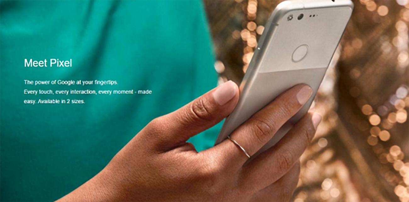 Pixel smartphone di Google