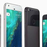 Google Pixel in due colorazioni