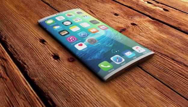Iphone curvo con display Oled