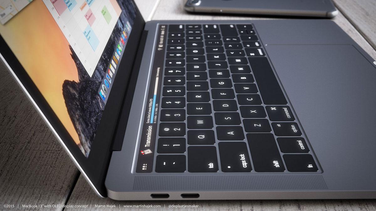 MacBook Pro 2016 render