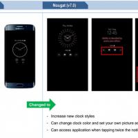 Nougat su Galaxy S7 novità 2