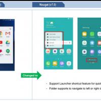 Nougat su Galaxy S7 novità 3