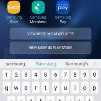 Nougat 7.0 su Galaxy S7 screen 5