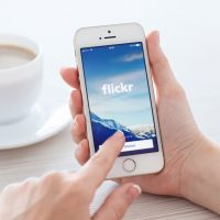 Flickr su iphone