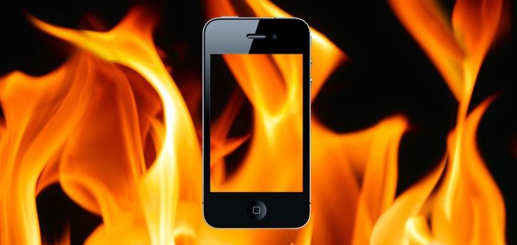 iphone esplosi