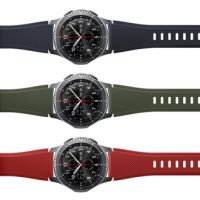 Samsung Gear S3 frontier_Active silicon band_3P
